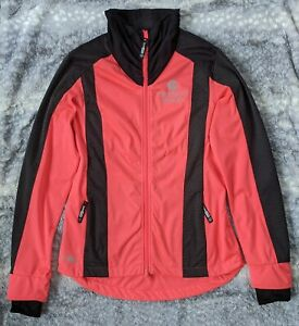 Aero Tech Designs Women's Reflective Windproof Cycling Jacket, Pink/Black, S