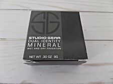 Studio Gear Cosmetics Dual Identity Wet/Dry Mineral Foundation Raw Sugar New