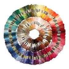 250 madejas de hilo para tejer punto de cruz bordado crochet multicolor T9W7