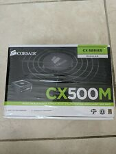 Corsair CX Series CX500M 500 Watt Semi-Modular Power Supply 80+ Bronze Certified