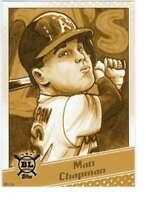 Matt Chapman 2020 Topps Big League Star Caricature Reproductions 5x7 Gold #SC-MC
