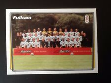 Merlin Football Sticker #164 2001-02 Fulham Team Picture Mint Condition