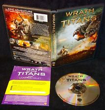 Wrath of the Titans (DVD, 2012) Mint Disc!•No Scratches!•Genuine USA!