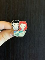 Tiny ERIC & ARIEL MERMAID Cuties PRINCESS Pin- Fantasyland Disneyland LE 750