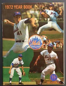 1972 New York Mets Official Yearbook MLB Baseball Vintage Ryan Shea Stadium