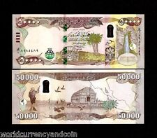 IRAQ 50000 Iraqi Dinars 2015 BOAT NEW Security Feature UNC HYBRID POLYMER ANIMAL