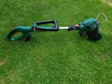 Qualcast 18V cordless grass trimmer. 25 cm cut movable head used no charger