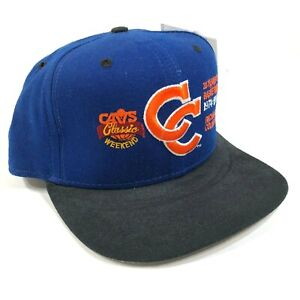 NEW Vintage Cleveland Cavs Cavaliers Snapback Hat Cap 1994 20 Seasons Richfield