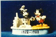 Disney Steamboat Willie meets Mickey Mouse Miniature Figurine