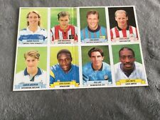 Panini Football 93 Stickers  a card of 8