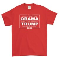 TRUMP-Keep America Great 2020 - 100% Ultra Cotton 6.1 oz T-shirt - Printed in US