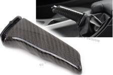 Para bmw x5 x6 tuning verdadera carbon handbremsgriff mano palanca de freno freno de mano nuevo