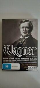 WAGNER : TONY PALMER'S CLASSIC FILM (DVD- 5 DISC SET - REGION 4)  $50