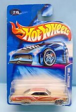 2483 HOT WHEELS / CARTE US / COLLECTOR 215 2003 / 1965 PONTIAC BONNEVILLE 1/64