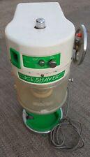 Used Commercial Ice Shaver Hatsuyuki Hf 500e Block Shaved Hawaiian Ice Snow Cone