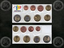 ANDORRA complete EURO SET 2014 - 8 coins SET (1 cent - 2 Euro) UNCIRCULATED