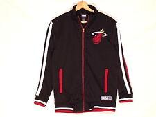 Miami Heat NBA striped black court jacket / mens S / normal use / s10