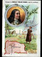 IMAGE CHROMO CHOCOLAT POULAIN / VISION de JEANNE d'ARC