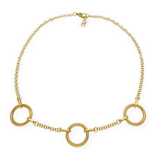 Collar Lotus Style LS1446/1/1 Acero Dorado Complementos de Mujer Joyería de Moda