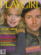 PLAYGIRL November 1980 Armand Assante GOLDIE HAWN Kid Courage NUDE Perry King