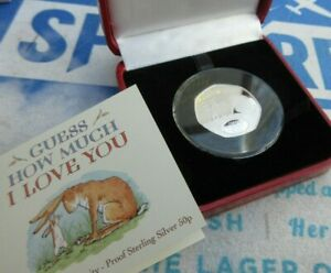 2020 SILVER PROOF Gibraltar 50p FIFTY PENCE Coin Guess How Much I Love You BOX/C