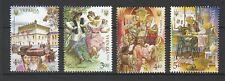 Ukraine 2016 Ethnicity: Jews 4 MNH stamps