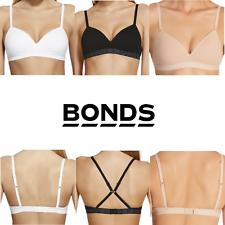BONDS WOMENS FLEX IT First Bra Soft Bust Ladies Black Nude White Size XXS XS S M