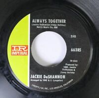 Pop 45 Jackie Deshannon - Always Together / Put A Little Love In Your Heart On I