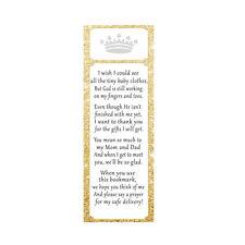 30 bookmarks baby girl shower sprinkle princess favor ideas gold glitter prince