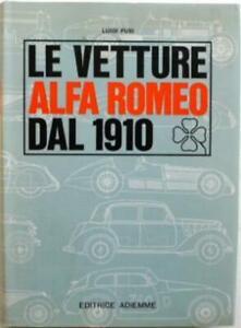 Le Vetture Alfa Romeo Dal 1910