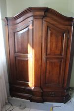 Living Room Cabinet 2 Doors Antique Furniture Baroque Style Wood Cabinet