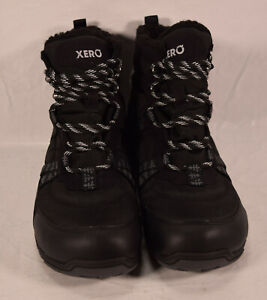 Xero Alpine Boots Waterproof Black Hiking Shoes US 9.5 New F200601W