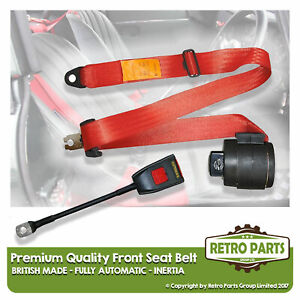 Front Automatic Seat Belt For Ferrari Mondial 8 Coupe 1981 Shape Red