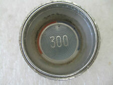 """CHRYSLER 300 "" HORN BUTTON  EMBLEM  BADGE SCRIPT TRIM   METAL"