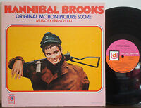 """FRANCIS LAI """"Hannibal Brooks"""" Soundtrack EXC 1969 1A/1A UNITED ARTISTS STEREO LP"""