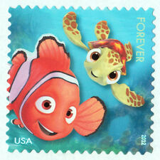 FINDING NEMO Forever Stamp SQUIRT DISNEY Unused USPS Postage MAIL a SMILE Pixar
