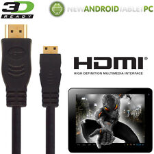 NATPC M009S 7 Capacitiva, Superpad Tablet HDMI Mini a TV 5m Cable de Alambre de plomo