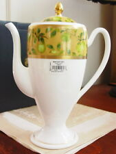 Waterford China GOLDEN APPLE Beverage / Coffee Pot - NEW!