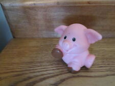 Fisher Price Little People Farm Barn Coop Pen Pig Piggy Pork swine pink muddy