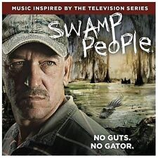Swamp People Soundtrack CD 2013 Rounder History Channel Hank Williams Neville