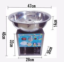 Fancy art cotton candy machine stainless steel electric gas cotton candy machine