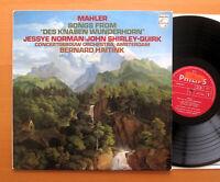 Philips 9500 316 Mahler Des Knaben Wunderhorn Jessye Norman Haitink NEAR MINT