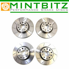 BMW X5 E70 3.0d  35d xDrive  40d xDrive 06-14 Grooved Front & Rear Brake Discs