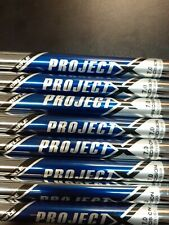 Pulled Project X 7.0 Extra Stiff Steel Shafts 3-PW .355 Tapered Tip