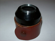 VINTAGE 29MM PUSH ON BLACK LENS HOOD IN ITS CASE -FREE SHIPPING-