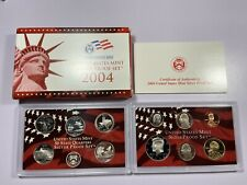 2004 US Mint Silver Proof Set in Package w/COA, 11 Coins