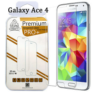 Galaxy Ace 4 Screen Protector Tempered Glass for Samsung Genuine Gorilla Tech