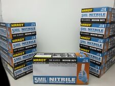 New listing 100 Nitrile Gloves 5 Mil Strong! Latex & Powder Free Size Large Limited Qty.