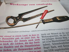 Das war die DDR Alltag Einkaufen Werkzeuge von smalcalda