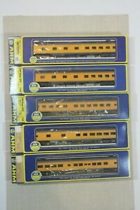 Vintage AHM Rivarossi HO Union Pacific Observation Sleeper Lot 5 New
